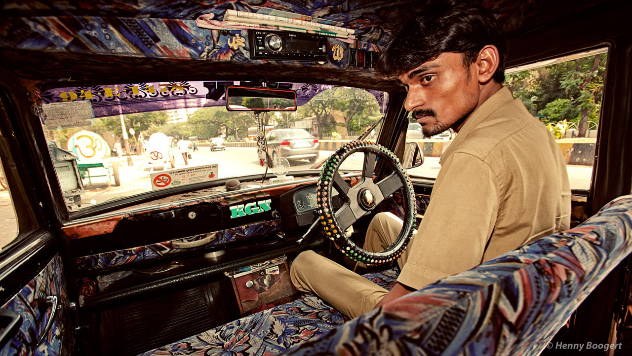 Indian Cab | Life in Mumbai, India 2011