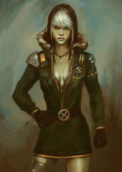 scorp48:  X-men Rogue by ~XiaMan