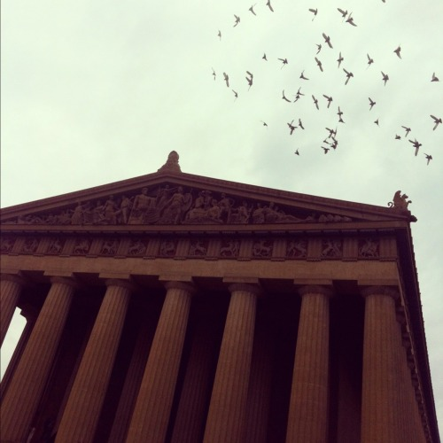 Last one! This is a replica of the Parthenon in Nashville, TN. Photo has an Instagram filter.