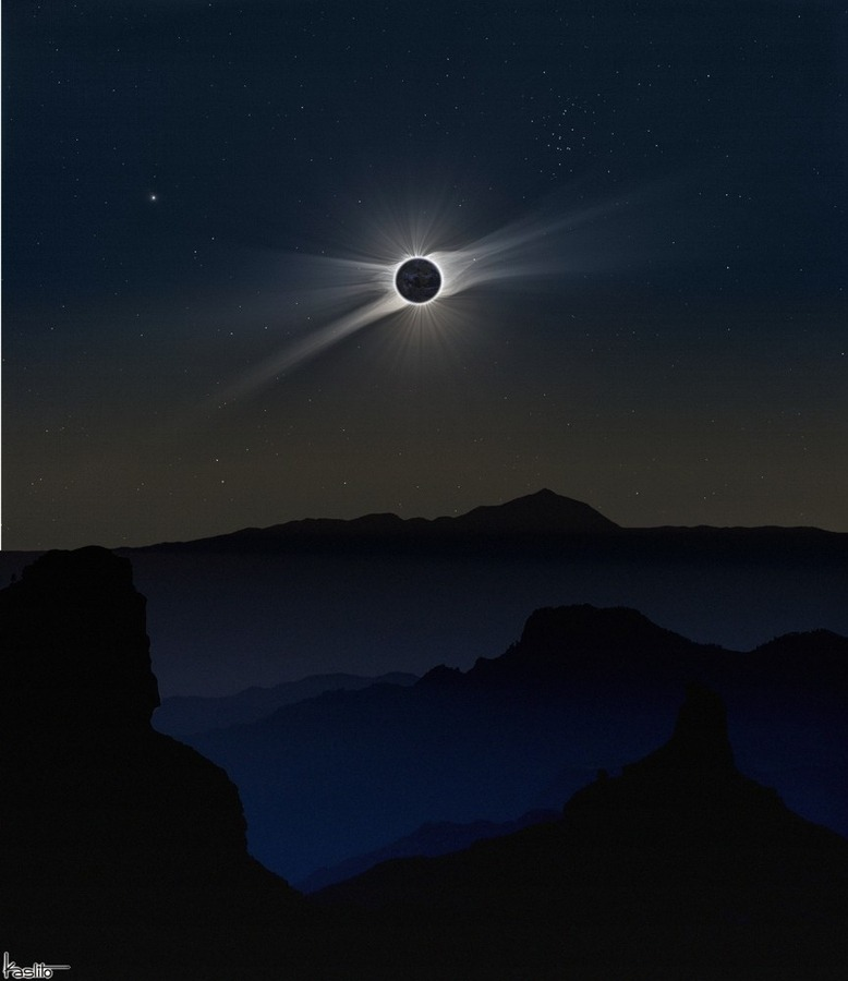 unknownskywalker:  Total eclipse by kaslito