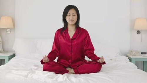Meditate to get a date?A spiritual guru says the secret is to love yourself first, and others will follow.