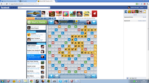 Sorry Becky.  My highest scoring word yet though, 167. :D