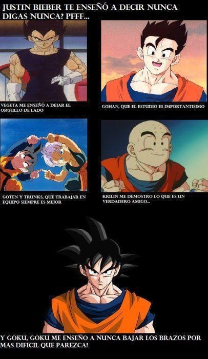 Lo Q Dragon Ball Z me enseñó