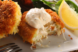 foodopia:  crab cakes: recipe here