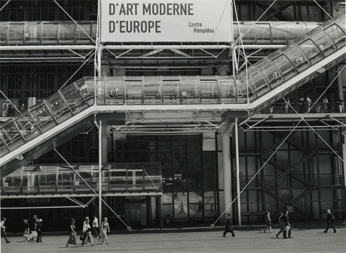 Pompidou Center Howard Hardie