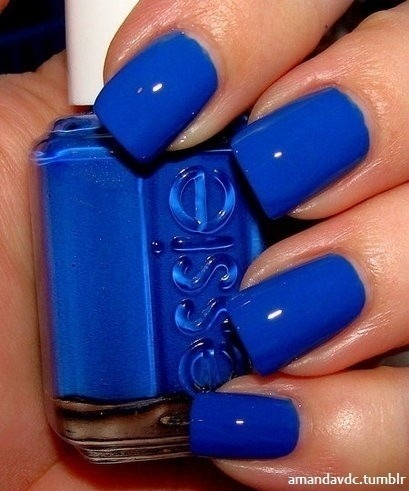 Essie A Royal Va-Va Blue. Looks like Gator & Wildcat Blue to me, right?