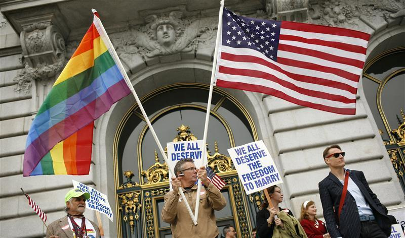 reuters:  A U.S. appeals court ruled that California's gay marriage ban violates the constitution on Tuesday in a case that is likely to lead to a showdown on the issue in the Supreme Court. DEVELOPING: California gay marriage ban unconstitutional, ruling says.   The battle for basic rights rages on.