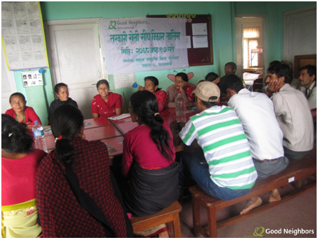 SPOTLIGHT PHOTO: This past June, Good Neighbors Nepal hosted a training day for 20 farmers to teach them how to grow seasonal vegetables & increase their income. The farmers were also given seeds for vegetables such as radish, pumpkin, and cucumber to get them started.