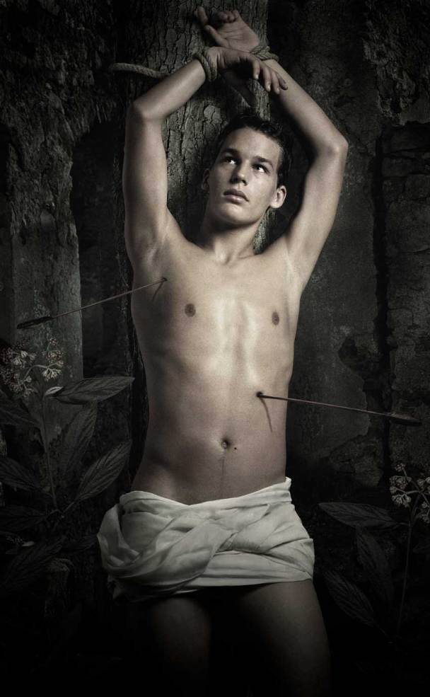 igorsoldat:  Saint Sebastian (2004)  by Anthony Gayton