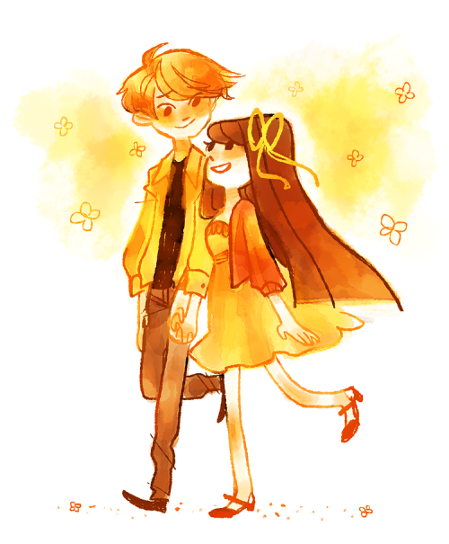 theres one week until valentines day so that means its OTP WEEK YEAH!!! startin this shit off with kyo and tohru from fruits basket, aka the only couple that has actually made me an emotional wreck, i just love them so much ok, im pretty sure ive talked about how emotional fruits basket gets me on here before ha….h….