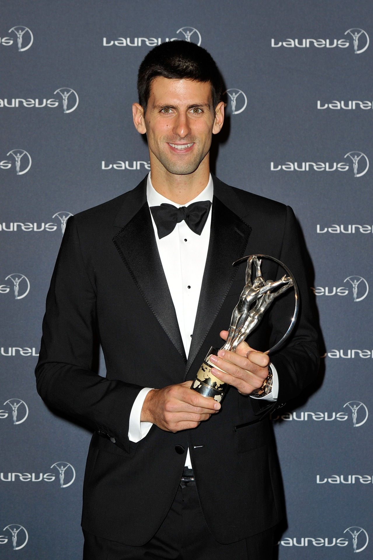 Congratulations to tennis champion Mr Novak Djokovic for a) winning the Laureus World Sportsman of the Year 2011 award last night and b) looking damn good doing it in Dolce & Gabbana