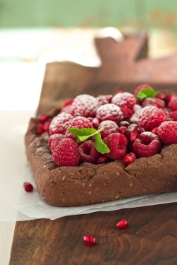 Gluten Free Chocolate Bread Pudding Breakfast Cake