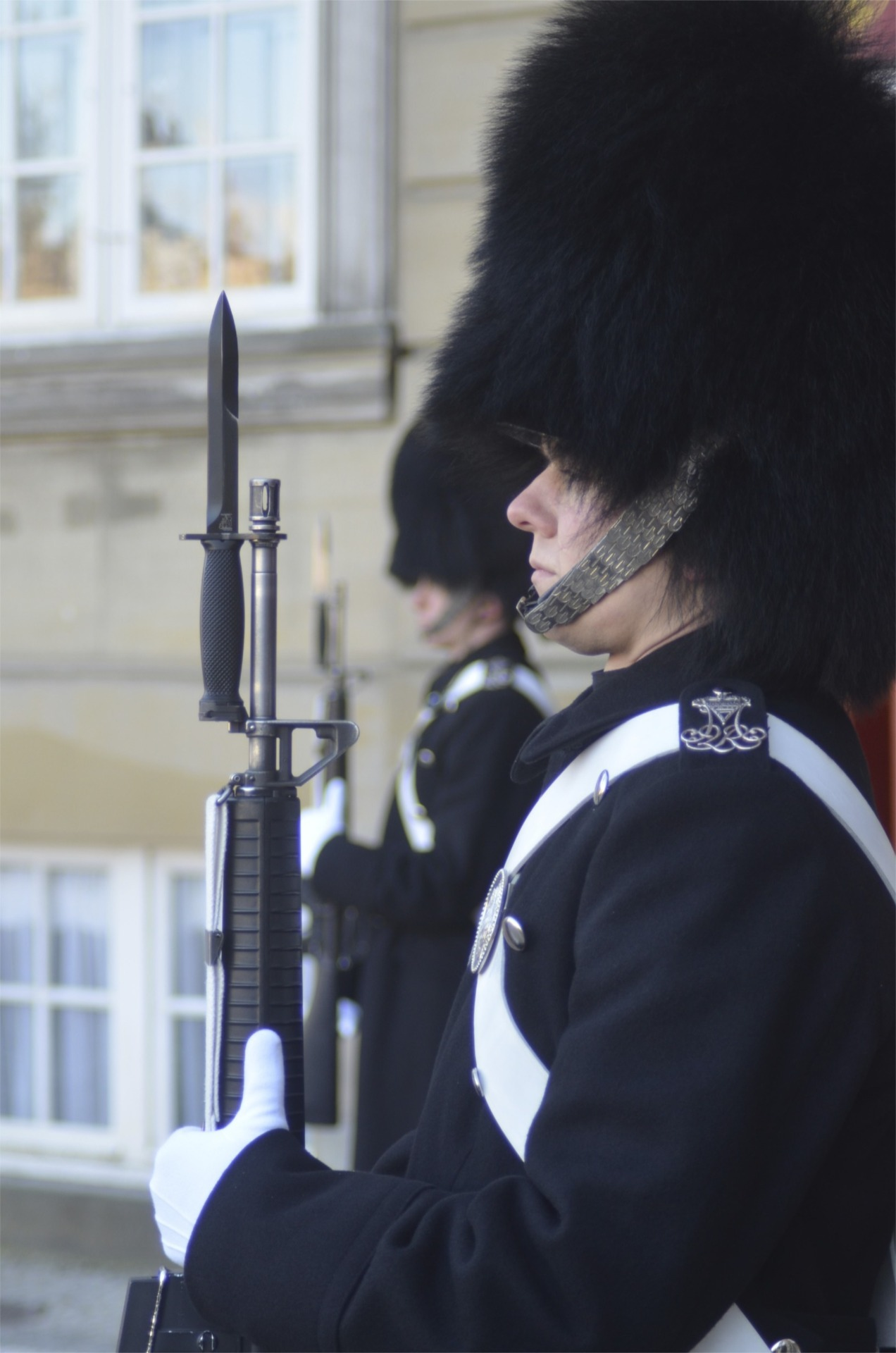 Danish Royal Guard in Copenhagen Denmark Photo by Jadiel Galicia