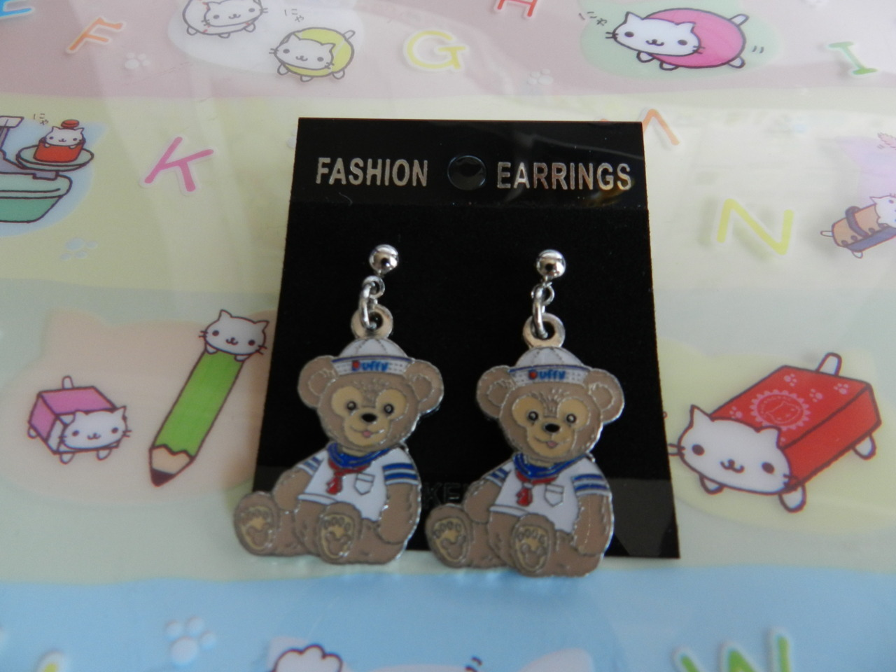Duffy Bear - Disney earrings~ ♡