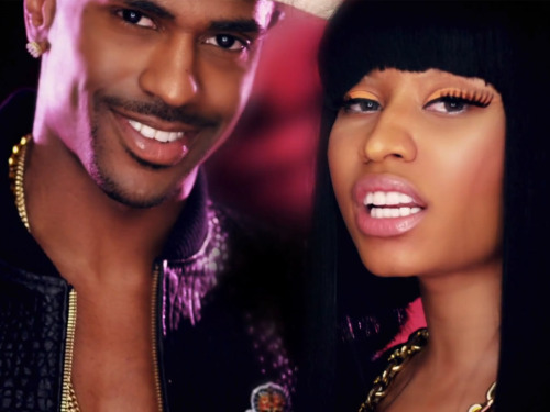 This is actually my screensaver And is so hot to see Big Sean and Nicki while Im getting ready 4 school