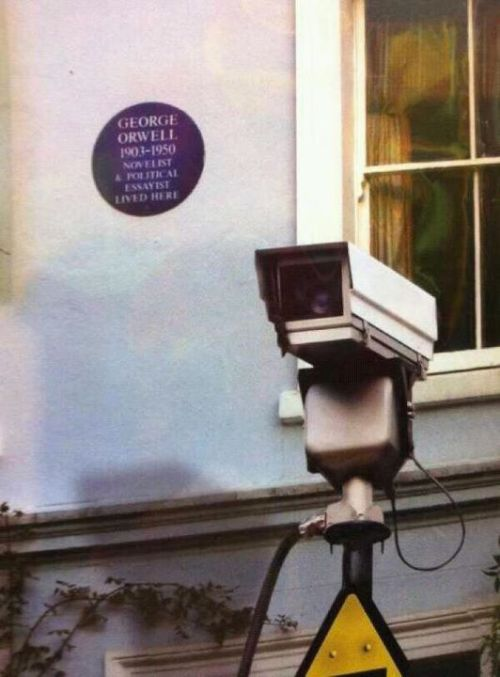 Nice one. vonawesome:  George Orwell lived here.