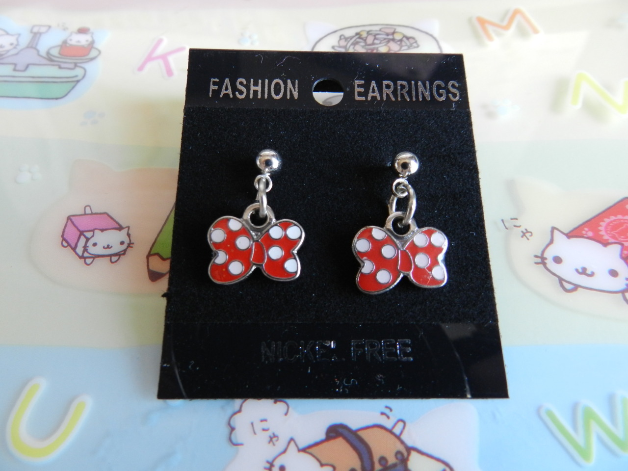 Minnie's Bow earrings~ ♡