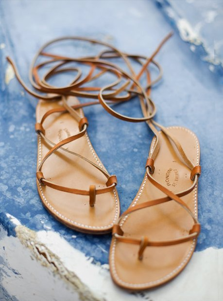 cute sandals.  simply elegant.