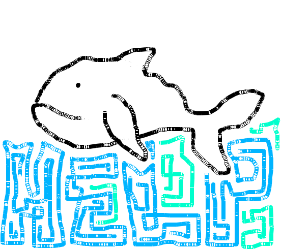 Draw a Whale! http://thelast130.org/ To supports WWF's campaign to save the last 130 Western Gray Whales.
