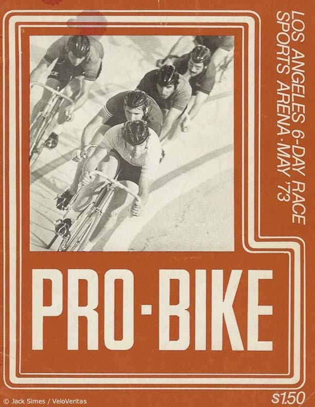 SIX DAY RACING IN LOS ANGELES 1973   Look, I know everyone is paying attention to some other issue in competitive cycling this week but what I really want to know is…  why can't we have events like this in America anymore?  Found on Velo Veritas.
