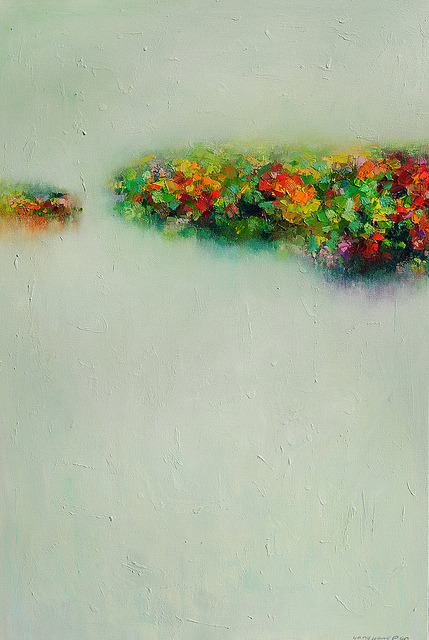 Abstract Landscapes by Yangyang Pan