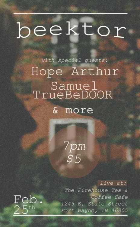 Midwest- go see my dude victor play acoustic!