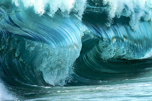 wave / click for more