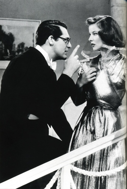 Cary Grant & katharine Hepburn In Bringing Up Baby 1938