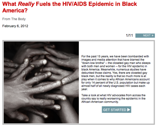 Today is National Black HIV/AIDS Awareness Day in the U.S. There are a lot of myths surrounding what actually fuels the epidemic among African Americans. Our friends athttp://www.thebody.com/ have compiled a great piece with responses from HIV advocates from around the country answering why African Americans account for only 14 percent of the U.S. population but make up almost half of all newly diagnosed HIV cases each year.