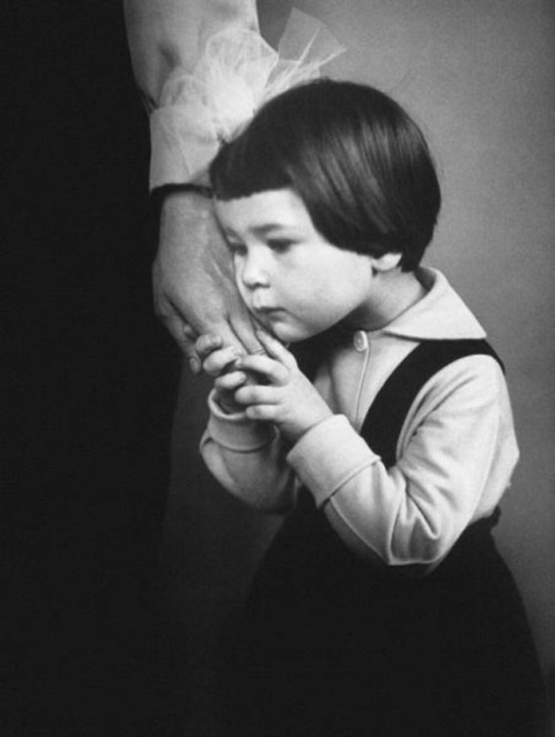 I just think this photo is adorable.   Antanas Sutkus - The Mother's Hand, 1966