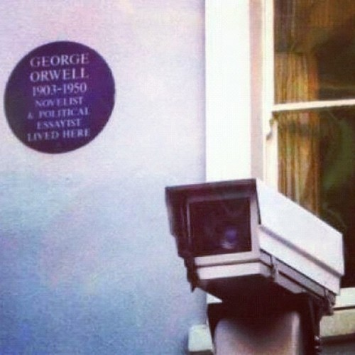 george orwell lived here.