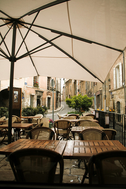 Rainy cafe - Ardence, France  | by © ♫゚nolitawanders ✈