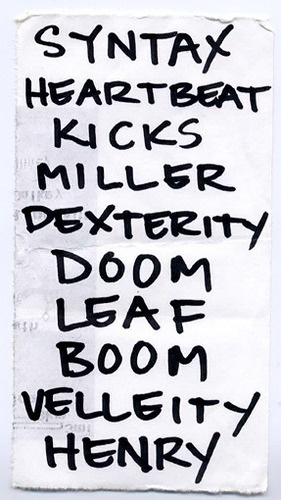 eightcookies:  JUNE OF 44 by Sumlin on Flickr. June of 44 set list