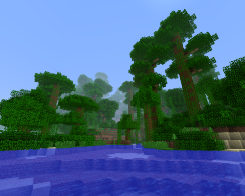 rossthekraken:  The Jungle Awaits.. Okay… so I just tried out the new 1.2 client thingy. It makes AI a lot more sinister, and with the addition of these labyrinth jungles.. it takes the game to a whole new level. The new AI behavior allows the zombies/skeletons/creepers to map out a path towards you, instead of just trying to head straight for you, which means they can now flank you or dissapear quickly. Also, creepers will now 'stalk' you, meaning that they will not run straight for you and engage, they will follow you for a while until you are stationary or inactive, then they will pounce and explode, classic creeper. Trying out this awesome patch, I headed into the jungle and instantly became lost amongst the sheer number of bushes and trees. It turns out a creeper had spawned on a low branch on one of the the large trees, and proceeded to follow me along the treetops until I stopped at a river to admire the view, after a while I turn round and noticed the creeper perched on the edge of this branch, we both looked at each other for around 10 seconds (I was trying to work out why he wasn't attacking). Literally had a heart attack when he dived from the tree and exploded, killing me instantly. BE WARNED MINERS. The monsters know the jungle, better than you..