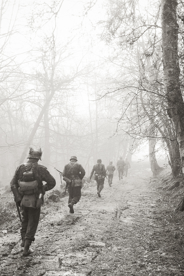 "dailyreenactor:  (via 500px / Photo ""Into the Mist"" by Robert Bridgens)"
