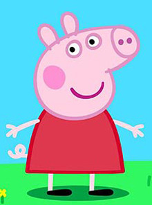 Peppa Pig Peppa gets my vote! As well as being the cutest pig ever, the kids love Peppa, which makes me love Peppa :) Drew Giles