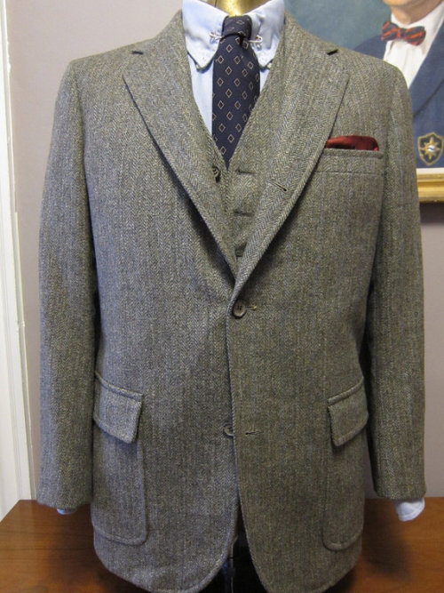 Tweed suits for days.