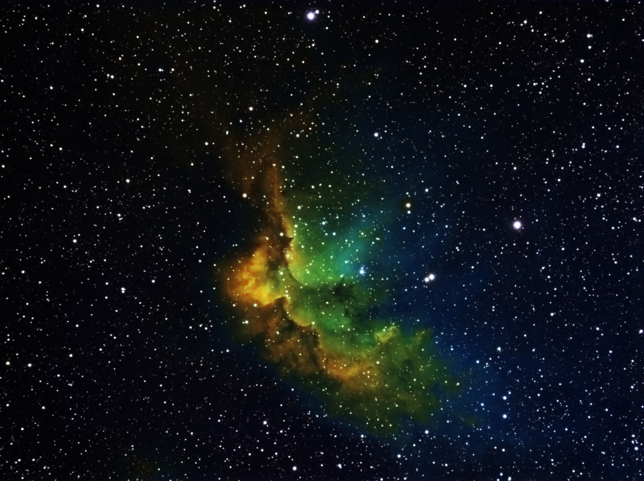 unimaginablyinfinite:  The Wizard Nebula