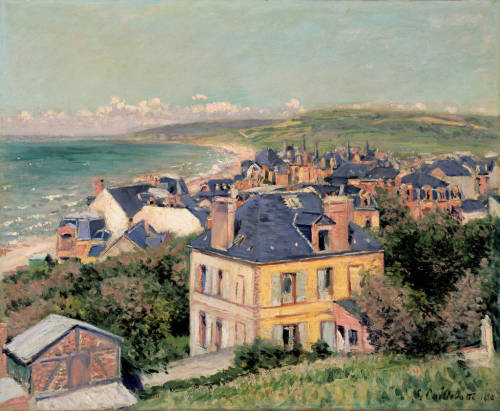 Villers-sur-mer, oil on canvas, 1880 - Gustave Caillebotte