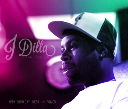 "Happy Birthday to the one and only  James ""J Dilla"" Yancey, one of the greatest musician/producer/MC/masterminds to ever grace this earth. This brother revolutionized our world's music and culture. Even if you're not familiar by name, you're sure to already be in love with his productions for A Tribe Called Quest, Common, Slum Village, Erykah Badu, The Roots, Raphael Saadiq, Lauryn Hill, Janet Jackson, Maxwell, D'Angelo, and more. Rest in Power Jay Dee! http://en.wikipedia.org/wiki/J_Dilla"