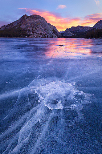 outdoorsanctuaries:  Emerging - Tenaya Lake, Yosemite National Park, California (by Jim Patterson Photography)