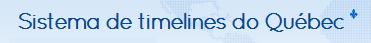 Sistema de Timeline do Quebec Veja quanto tempo leva +/-