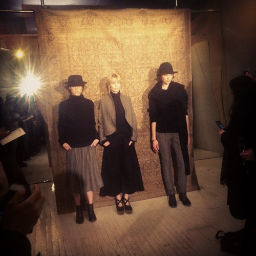 novh:  Assembly women's fw12 (Taken with instagram)