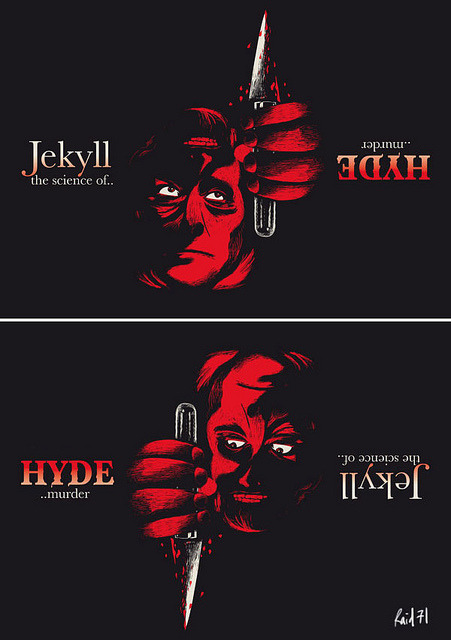 Jekyll & Hyde Print by Chris Thornley
