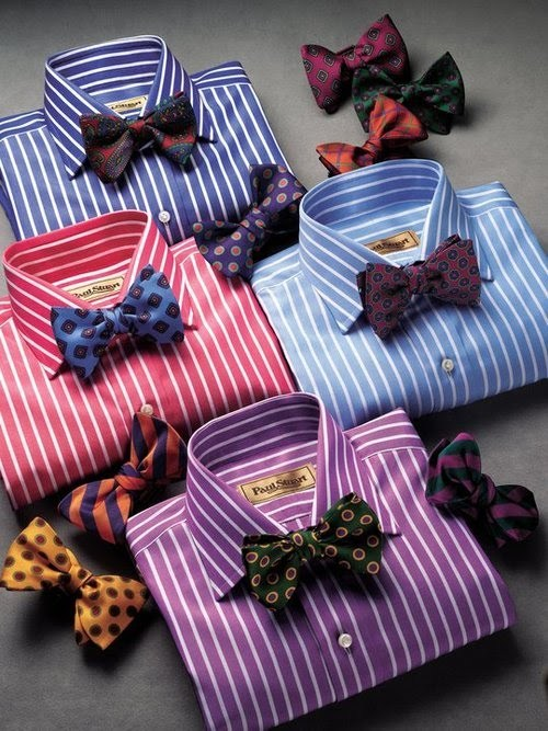 queerbois:  Opulence::Style::Investment:: A BOW TIE with Flair and Shirts full of Adaptability.   Nothing completes a well appointed boi like the BOW TIE. These particular versions offer the versatility of color and texture; with a flourish of plaids, and unmistakable personality. Nothing says QueerBoiFresh like bold patterns, colors and unconventional pairings.  Next time you're out looking around, challenge yourself to pair oddities, you may find a new You! ps: Thx Alex :-)