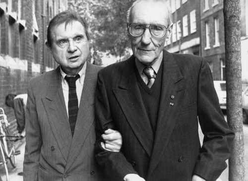 awesomepeoplehangingouttogether:  Francis Bacon and William S. Burroughs