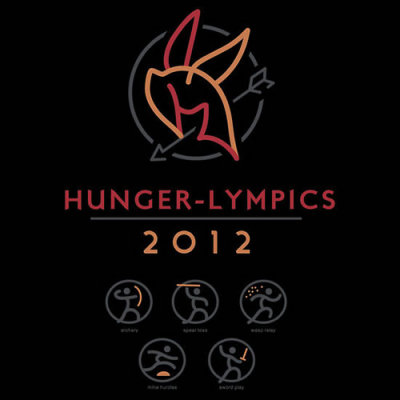 """Hunger-lympics"" by WinterArtwork. I've always thought the Olympic Games could be spiced up a bit. Sure, it's the best athletes in the world at their peak physical condition competing in their disciplines, but where's the real tension and drama? If they lose, they try again at the next Olympics.