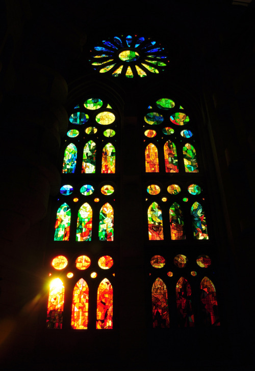 twoandfourty:  Barcelona - Stained Glass by Adam Wyles