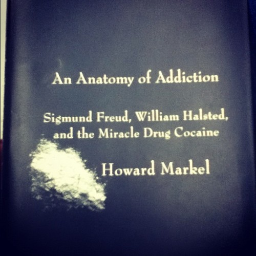 I can't wait to #read this #book!! So #psyched my #psychology #professor told #me about this book! #love #reading #books #addiction #sigmundfreud  (Taken with instagram)
