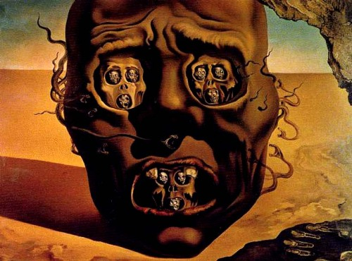 THE FACE OF WAR, 1940 - Salvador Dalí (1904 - 1989)